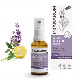 Spray répulsif  - éloigne les poux - 30 ml   Pranarôm