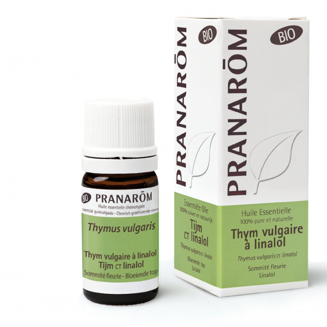 Thym vulgaire à linalol - 5 ml   Pranarôm
