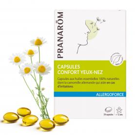 Capsules - Confort yeux-nez - 30 capsules | Pranarôm