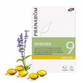 9 - Geheugen - 30 capsules | Pranarôm