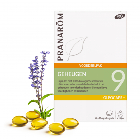 9 - Geheugen - 75 capsules | Pranarôm