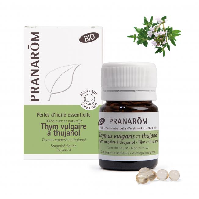 Thym vulgaire à thujanol - 60 Perles   Pranarôm