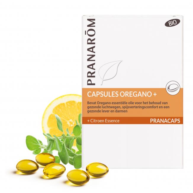 Oregano + - 30 capsules   Pranarôm