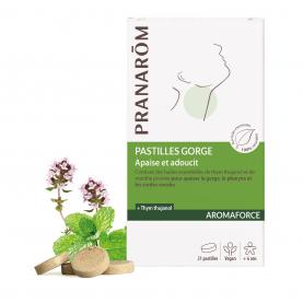 Pastilles - gorge - 21 pastilles | Pranarôm