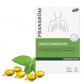 Capsules Bronches - 30 capsules   Pranarôm