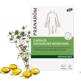 Capsules Natuurlijke weerstand - 30 capsules | Pranarôm