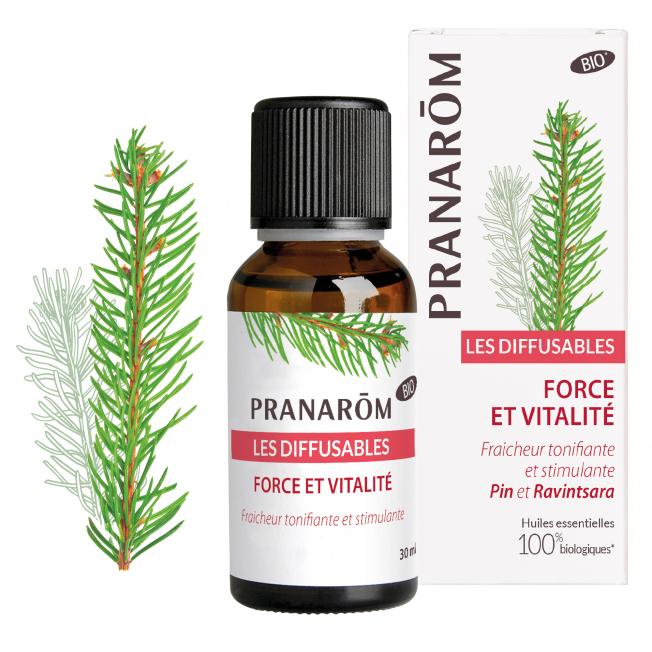 Force et vitalité - 30 ml   Pranarôm
