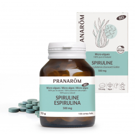 Spiruline - 150 comprimés | Pranarôm