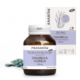 Chlorella - 150 comprimés | Pranarôm