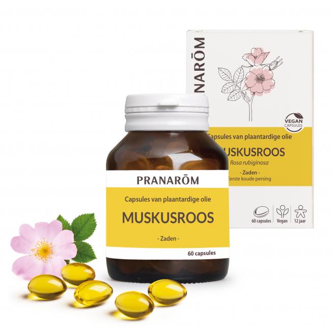 Muskusroos - 60 capsules | Pranarôm