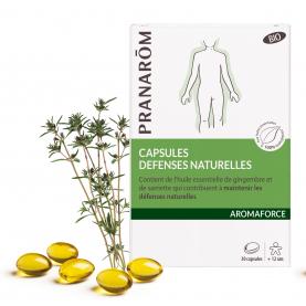 Capsules Défenses naturelles - 30 capsules | Pranarôm