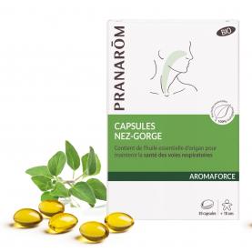 Capsules Nez-Gorge - 30 capsules   Pranarôm