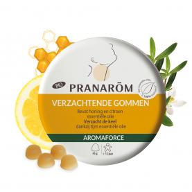 Verzachtende gommen - Honing/Citroen - 45 g | Pranarôm