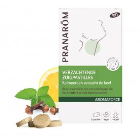 Verzachtende zuigpastilles - 21 pastilles | Pranarôm