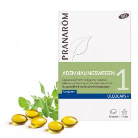 1 - Ademhalingswegen - 30 capsules | Pranarôm