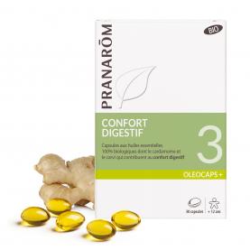 3 - Confort digestif - 30 capsules | Pranarôm