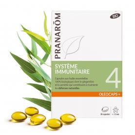 4 - Système immunitaire - 30 capsules | Pranarôm