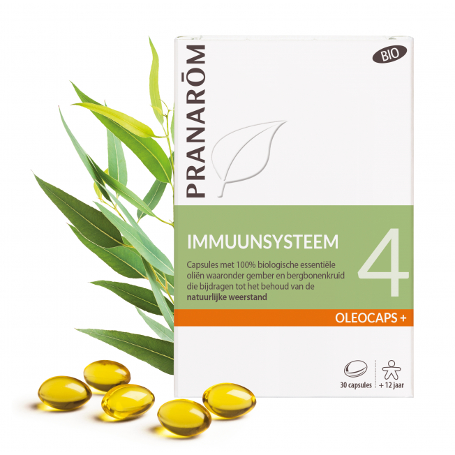 4 - Immuunsysteem - 30 capsules | Pranarôm