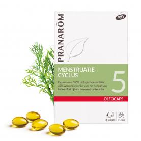 5 - Menstruatiecyclus - 30 capsules | Pranarôm