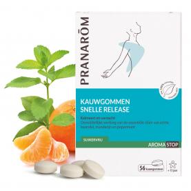 Snelle release - Kauwgommen - 56 gommen | Pranarôm