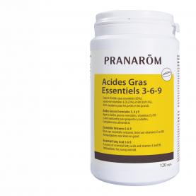 Acides gras essentiels 3-6-9 - 120 capsules | Pranarôm