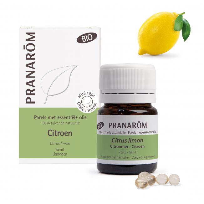 Citroen - 60 Parels | Pranarôm