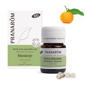 Mandarijn - 60 Parels   Pranarôm