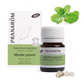 Menthe poivrée - 60 Perles | Pranarôm