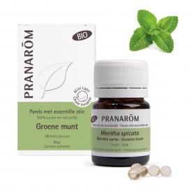 Groene munt - 60 Parels | Pranarôm