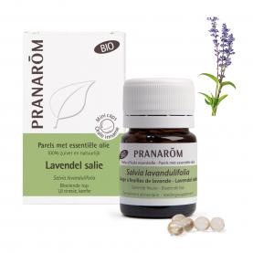 Lavendel salie - 60 Parels | Pranarôm