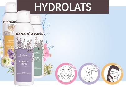 Tout savoir sur nos hydrolats 100% naturels